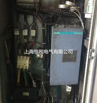 西门子6RA80电机控制器上电就报F60092