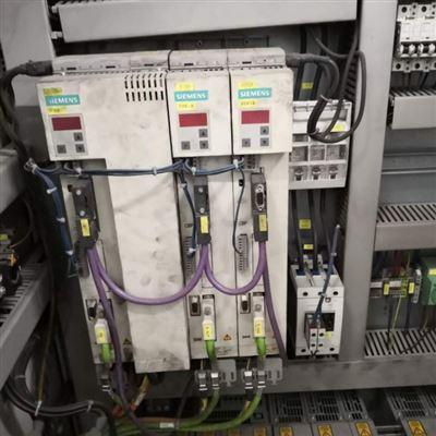 当天修复西门子6SE70伺服控制器启动就报F006