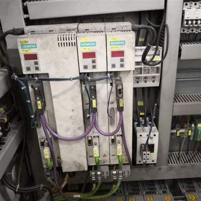 西门子6SE70伺服器飞车控制不了当天修好