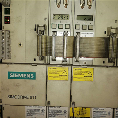 半天修好西门子控制器伺服611U运行几分钟报608