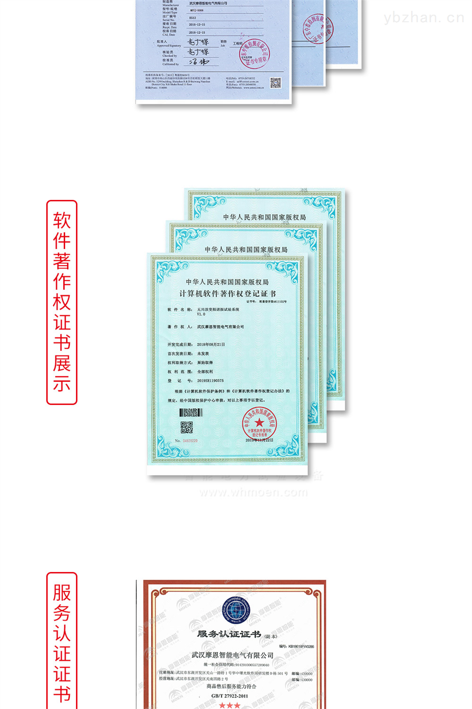 手持式三相电能表现场校验仪软件证书
