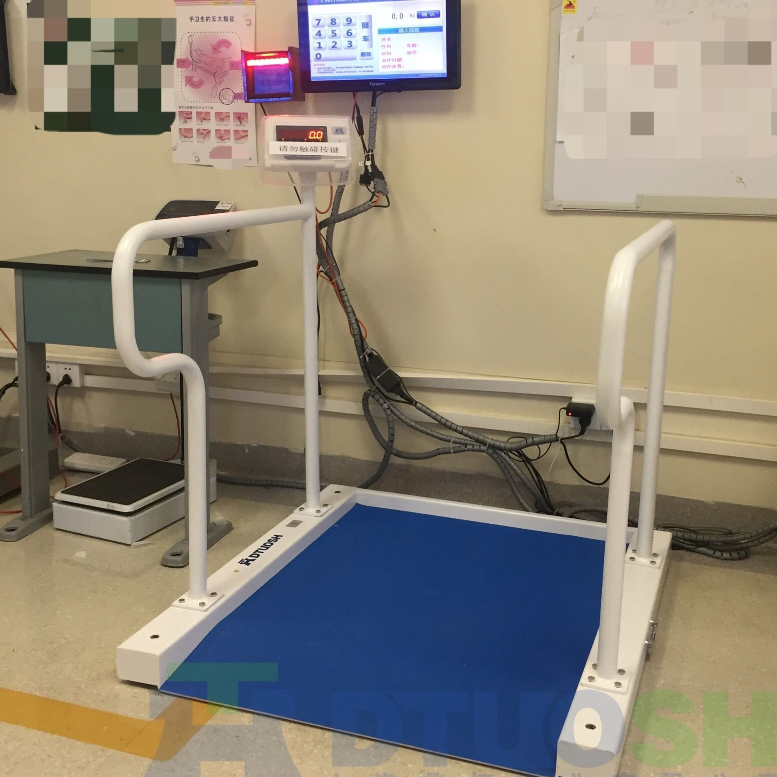 医疗用透析轮椅电子秤