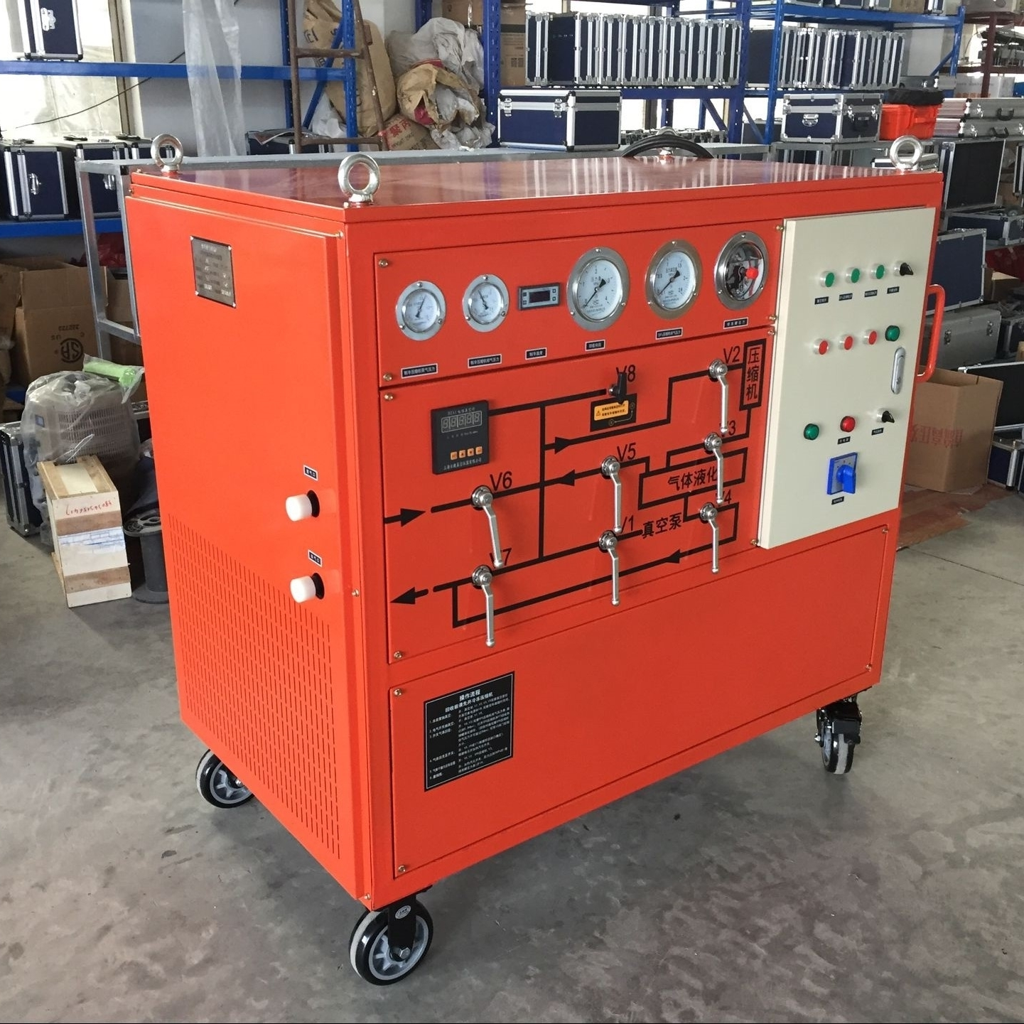 上海厂家SF6气体回收装置