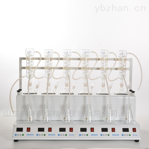 GL-232 半自动智能一体化蒸馏仪
