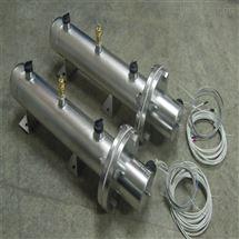 不锈钢法兰电加热器/220V/4KW