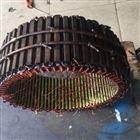 西门子扭矩电机线圈烧坏接地十一年绕组维修