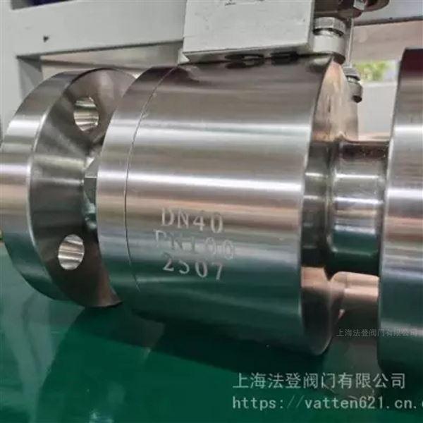 渗滤液用双相钢高压球阀 气动2507材质球阀