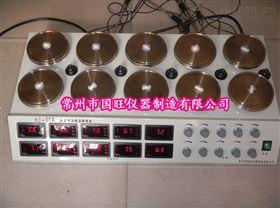 HJ-10A数显十头磁力加热搅拌器
