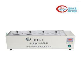 HH-S11.4单列四孔恒温水浴锅