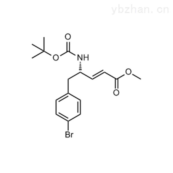 (S,E)-Methyl 5-(4-bromophenyl)-4-((tert-butoxycarbonyl)amino)pent-2-enoate