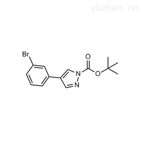 tert-Butyl 4-(3-bromophenyl)-1H-pyrazole-1-carboxylate