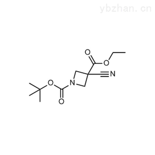 1-(tert-butyl) 3-ethyl 3-cyanoazetidine-1,3-dicarboxylate