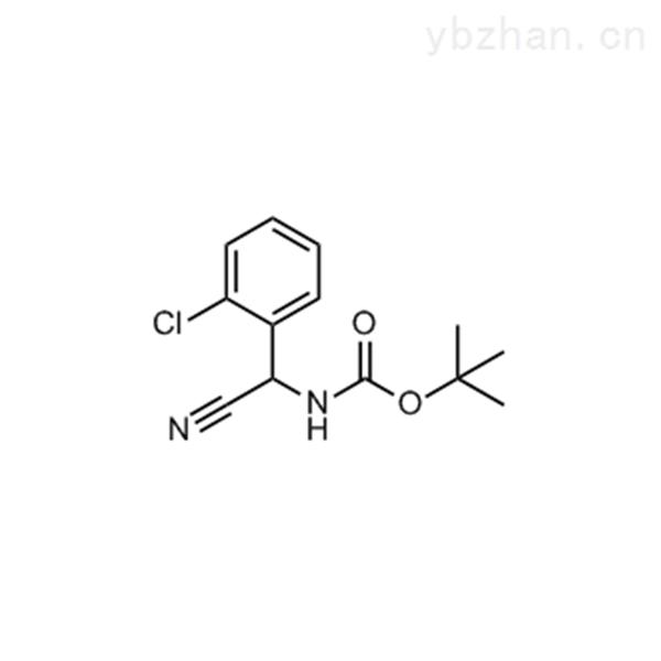 tert-Butyl n-[(2-chlorophenyl)(cyano)methyl]carbamate