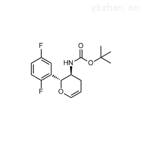 tert-Butyl ((2R,3S)-2-(2,5-difluorophenyl)-3,4-dihydro-2H-pyran-3-yl)carbamate
