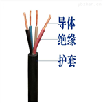 照明电缆MYQ3*2.5+1*1.5矿用灯线MYQ4*2.5