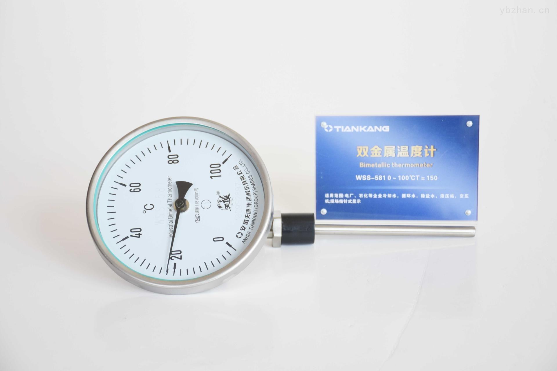 安徽天康双金属温度计