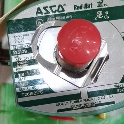 ASCO燃料分配用电磁阀EFG353G044