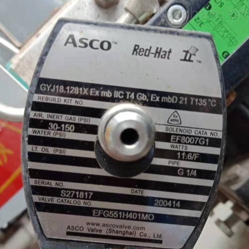 美国ASCO低功耗电磁阀JKF8316G064