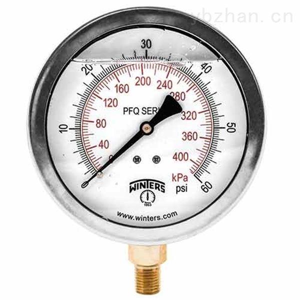 优势供应文特斯PFP不锈钢压力表