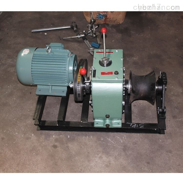 辽宁省能源电力承试资质所需设备电动绞磨机