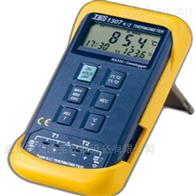TES-1307K/J记忆式温度表分析仪
