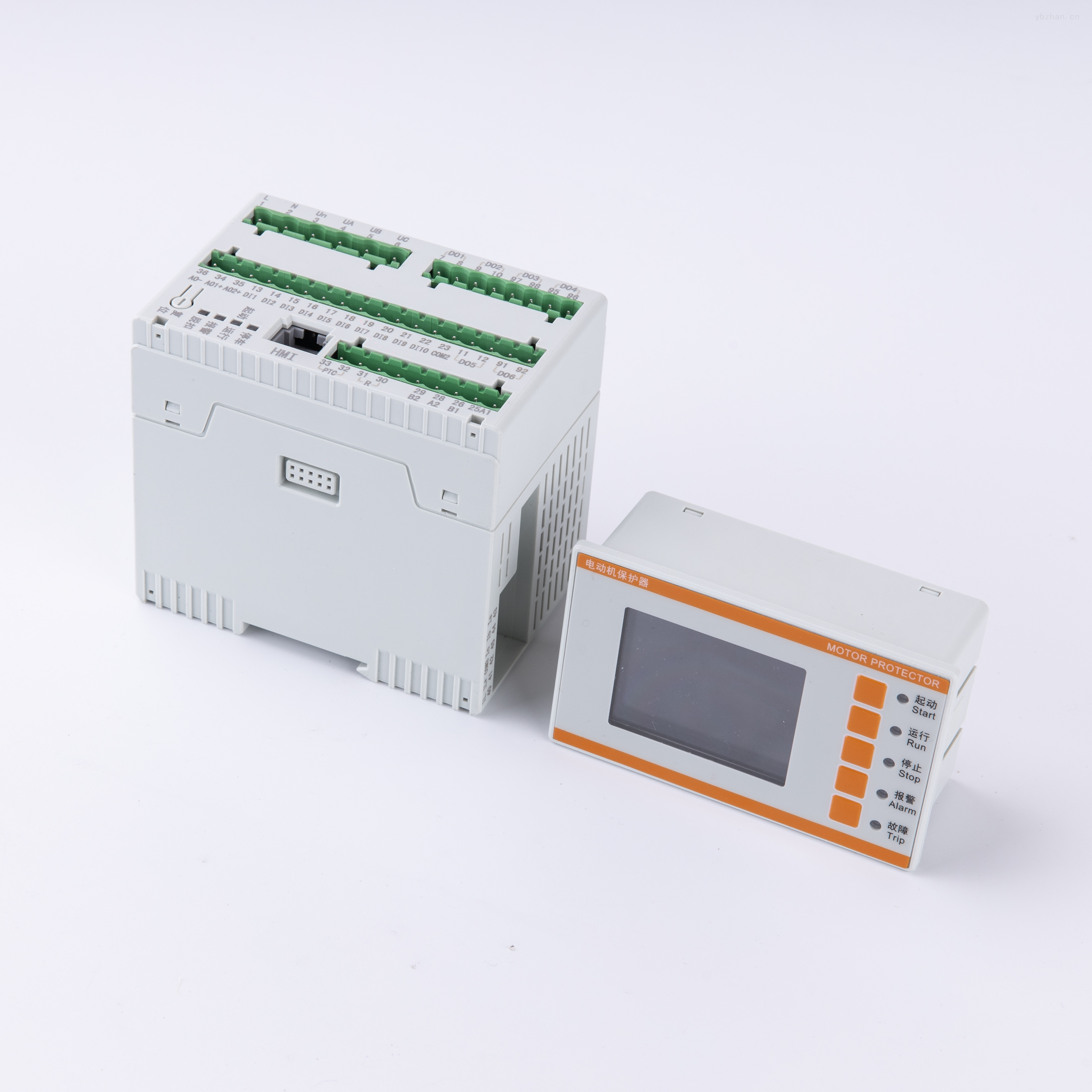 三相智能电动机保护器PTC测量过压欠压保护
