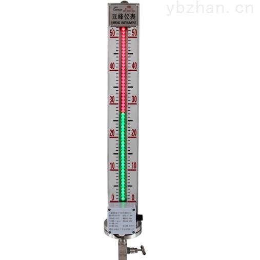山东磁敏电子双色液位计 LED照明 带远传