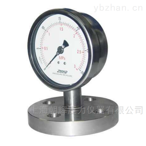 高温型熔体压力表