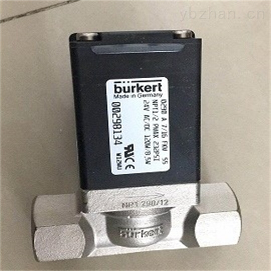 BURKERT直动式电磁阀说明书