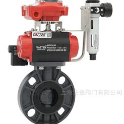 D671X气动UPVC塑料蝶阀,工业废水排放PVC蝶阀