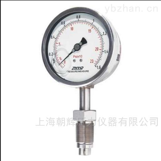 工业隔膜式压力表