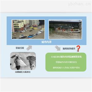 城市内涝预警与排水信息化系统监测