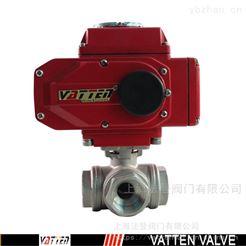 VT2DEN33A螺纹三通球阀工作原理,小型电动三通球阀