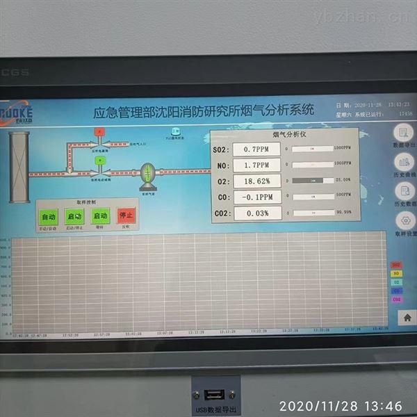 红外线烟气综合分析仪