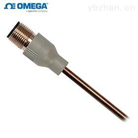 PR-22-3-100-A-(*)-0600-M1omega带M12模塑连接器的 RTD探头