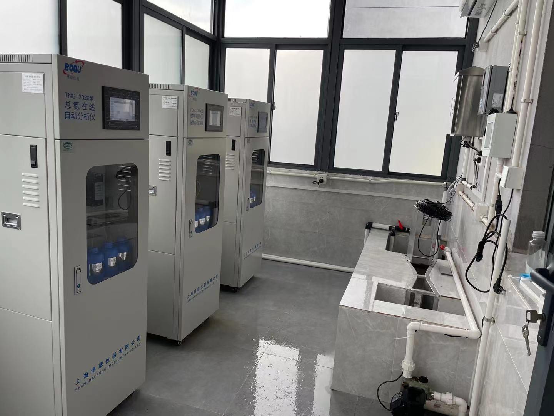 上海药厂污水排放口