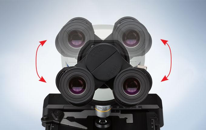 奥林巴斯CX23生物显微镜目镜切换