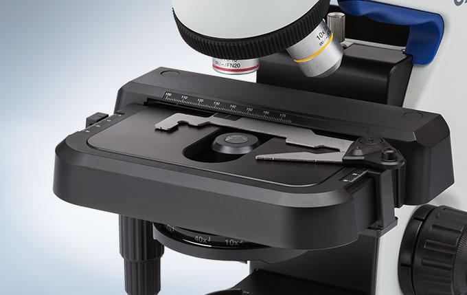 奥林巴斯CX23生物显微镜载物台的大小