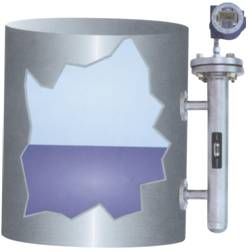 磁致伸缩液位计测量示意图