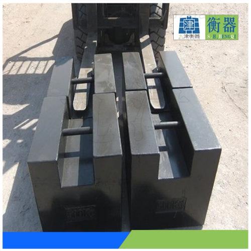 山东锁形500公斤铸铁砝码 山东500kg标准砝码销售点