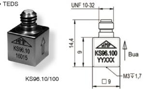 KS96.10/KS96.100微型加速度传感器