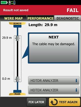 福禄克DSX-5000、8000 CH解决不良线缆问题