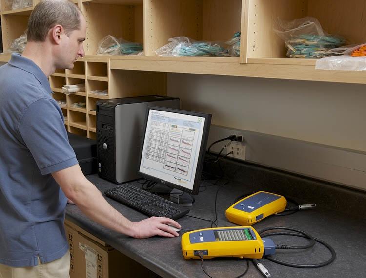 铜缆测试中DSX-5000 CH回波损耗(RL)不合格原因分析